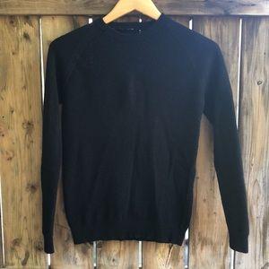 LULULEMON Simply Wool sweater size 6 black